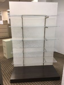 20 Luxury Displays, Shelves, Partition on Wheels
