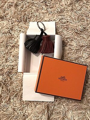 Hermes Uno Dos Two Tone Key Holder