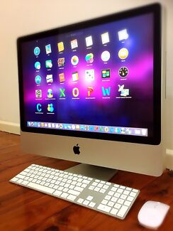 "Apple iMac 20""LED•2.40GHz CPU™◈4.GB•250.GB◈ATI◈Office◈iOS Captain"