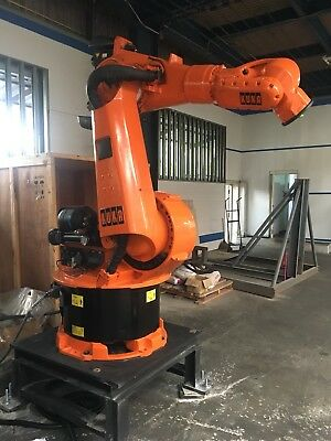 Retrofit Kuka Robotic Arms Kr150 Industrial Robot With Gsk Controller Pendant