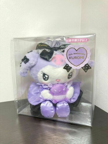 Kuromi Plush Doll Tsundere Cafe Type Girly KUROMI 2020 SANRIO Rare