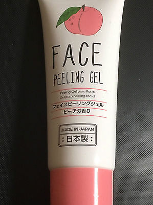 New product made in Japan FACE Peeling Gel,Fragrance of peach,From JAPAN