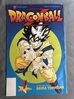 Dragon Ball Z Viz Comics Graphic Novel Paperback Book Goku Akira Toriyama 1