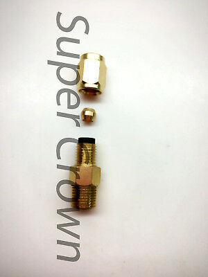 Brass Metering Check Valve Pst Pro. Distributor Adapter Inline Lube 4 Cnc Showa