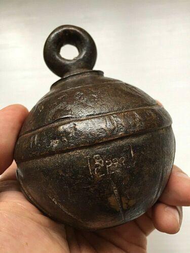 Antique Burmese elephant bronze bell