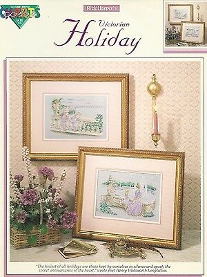 Raindrop Holidays Remembered cross stitch pattern book copyright 1991