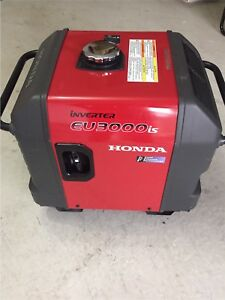 Honda Generator Inverter EU3000is Battery Electric Start Japan