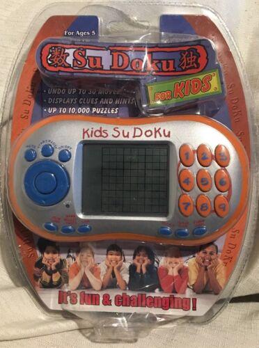 Su Doku For Kids Electronic Hand Held Game New Sudoku Pocket
