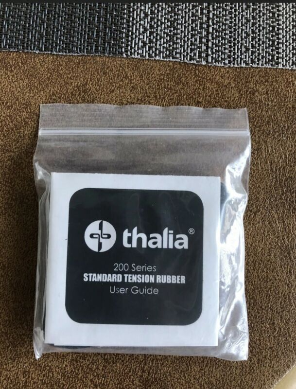 Thalia 200 Series Capo, Standard Tension Rubber Fret Pads. 6 Total. Full Set
