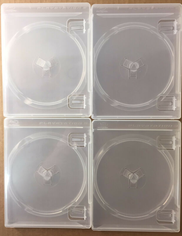 Pack of twelve (12) Original Playstation 3 Replacement cases w/ PS3 Logos ps3