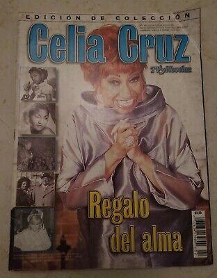 2003 TV Y NOVELAS MAGAZINE CELIA CRUZ SPECIAL EDITION COLECCION RARE