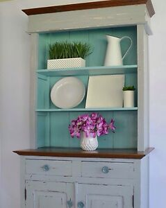 Coastal style buffet hutch sideboard Greenbank Logan Area Preview