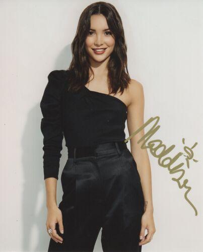 Maddison Jaizani Nancy Drew Autographed Signed 8x10 Photo COA 2019-20
