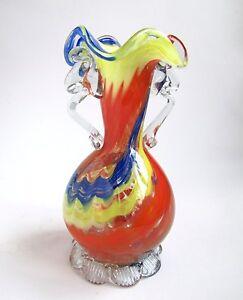 vase murano en verre souffl color ebay. Black Bedroom Furniture Sets. Home Design Ideas