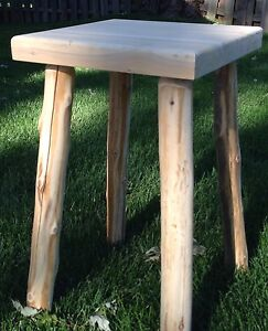 log end table ebay