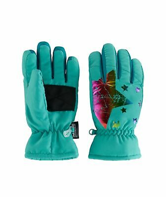 American Heritage, Girls 4 -16 Thinsulate Ski Gloves (Choose Pattern, Size)