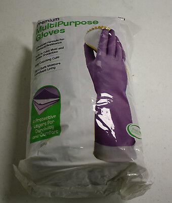 Clean Ones Premium Multi Purpose Rubber Gloves 9 Pairs MEDIUM hand dishwashing