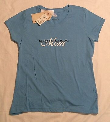 Womens Nc North Carolina Mom T Shirt College The Game American Threads M L Nwt