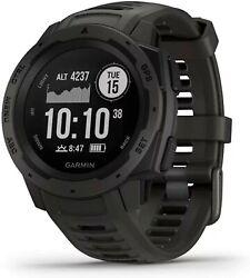 BRAND NEW Garmin Instinct Rugged Outdoor GPS Watch - Graphite 010-02064-00