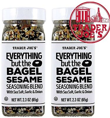 X2 Unid Trader Joes Everything But The Bagel Sesame Seasoning Blend 2 3Oz  65G