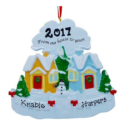 PERSONALIZED From Our House To Yours 2019 Neighbors Christmas Ornament Gift ()