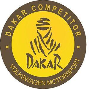 Motorsport-Esterno-decalcomania-in-vinile-Dakar-Rally-Auto-da-competizione