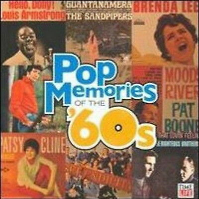 Pop memories of the 60s 10 CD Box time life 160 Hit New & Sealed USA Made/Shiped