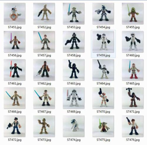 25 kinds Playskool Star Wars Galactic Heroes Figures Xmas Gi