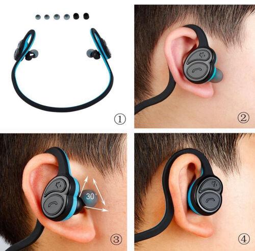 Купить Unbranded/Generic HV-600 - BackBeat Wireless Bluetooth Sweatproof Earbuds Earphone Headset Sports Headphone
