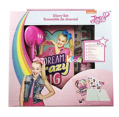 """JoJo Siwa Unicorn Diary for Girls 7"""" Secret Journal Set - Journals For Girls"""