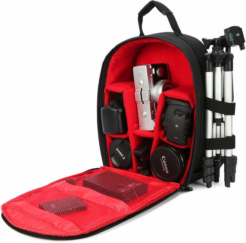 G-raphy Camera Bag Small Camera Backpack with Rain Cover for