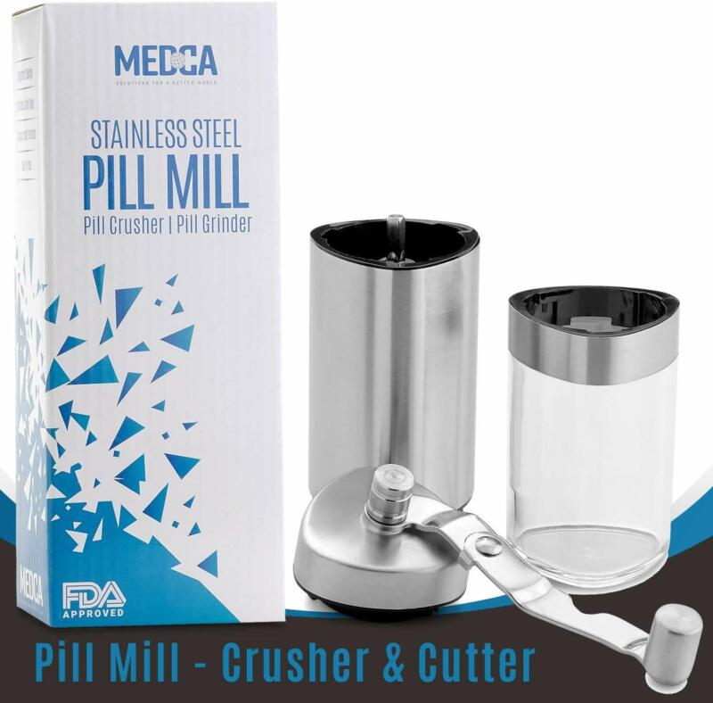 Stainless Steel Tablet & Vitamin Crusher Grind & Pulverize M