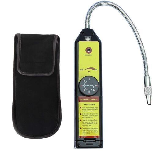 Portable Gas Leak Detector Sensor Halogen Tool CFC AC Freon Refrigerant Sniffer