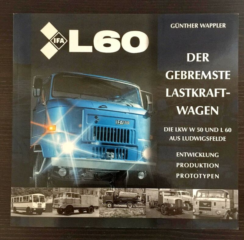 IFA LKW W 50 / L 60 Fortschritt DDR Buch