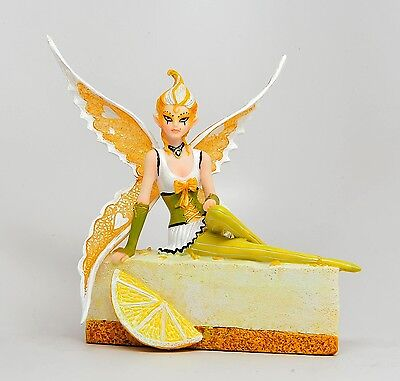 SUGAR SWEET STATUE FAIRY LEMON CHEESECAKE CAKE FAIRY FIGURINE ANNE STOKES