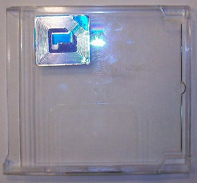 300 Lot Alpha Security Cd Video Game Jewel Case Locking Frame Cases Acm202 Used