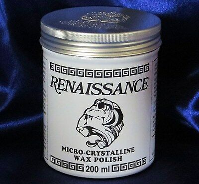 Renaissance Wax - Micro-Crystalline Wax Polish - 200ml (7oz) Can