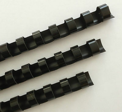 34 Plastic Binding Combs - Black - Set Of 25