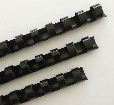 34 Plastic Binding Combs - Black - Set Of 25