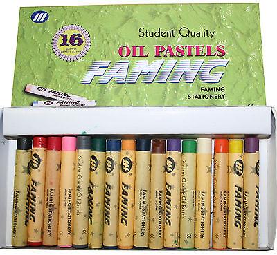 Ölpastellkreiden 16  Ölpastell Farben zum malen