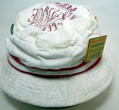 Genuine Antique Person Sz OR white Bucket Hat Cap Pins Joke Fun](Personalized Bucket Hats)