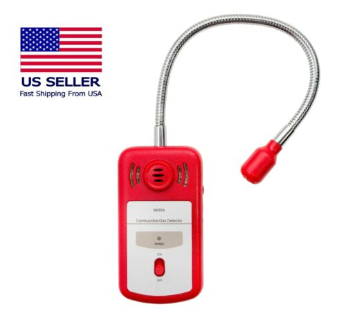 Combustible Gas Detector 8800A | Portable Gas Leak Sniffer | CE & RoHS Certified