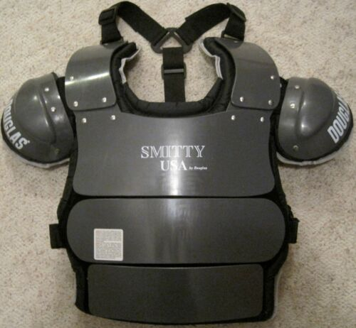 """SMITTY UMPIRE CHEST PROTECTOR BY DOUGLAS 15"""" NEW"""