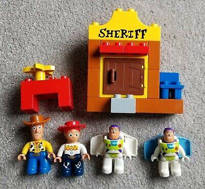 TOY STORY, Lego Duplo 5657–JESSIE's Round Up, w/o Bullseye, BUT, w/ WOODY & BUZZ