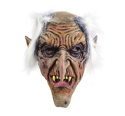 Kobolde Maske Alter Mann Halbes Gesicht Goblin Zwerg Halloween Kostüm Zubehör