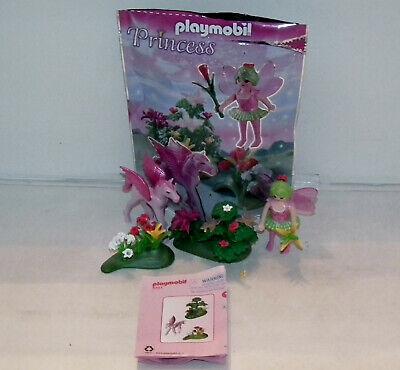 Playmobil 5351 Spring Fairy & Pegasus 100% complete with original bag