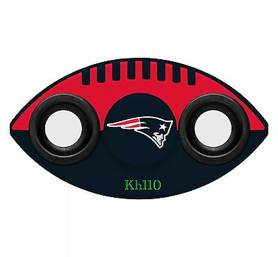 NFL New England Patriots Team Logo Two Way Diztracto Fidget Hand Spinners