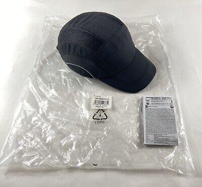 Jsp Hardcap A1 Bump Cap Black Low-profile Baseball Style Size 53-63 Cm