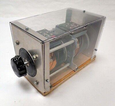 Power Stat 216bu-2 Variable Autotransformer 240vac 0-280vac 3.5 A Ph1 .95kva
