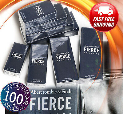 ❗️ NEW Authentic FIERCE Abercrombie & Fitch 1.0 1.7 3.4 6.7 oz Original Cologne